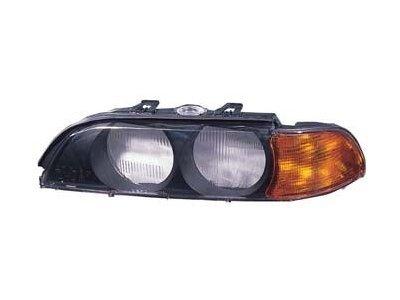 Sprednji okvir žarometa BMW E39 95- rumeni smernik