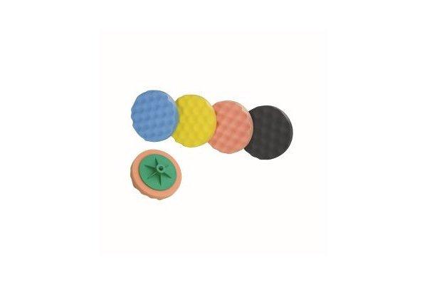 Spužva za poliranje (narančasta), 150 mm, srednje tvrda