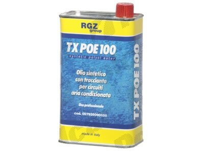 Sredstvo za hlađenje ulja 1L , POE ISO 100 + kontrast UV