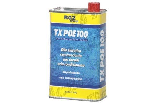 Sredstvo za hlajenje olja 1L , POE ISO 100 + kontrast UV