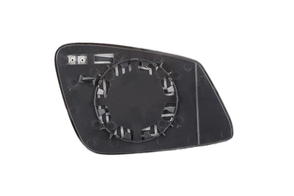 Staklo ogledala BMW Serije 1 (F20/F21) 11-, belo, 2 pin