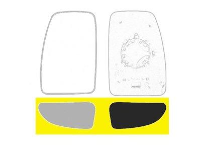 Staklo ogledala (donje) Opel Movano 10-