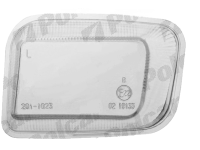 Steklo meglenke Opel Astra 91-02