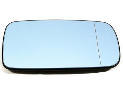 Steklo ogledala BMW 7 (E65/E66) 01-06, modro,ogrevano