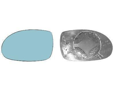 Steklo ogledala Citroen C5 01-07, asferično, ogrevano