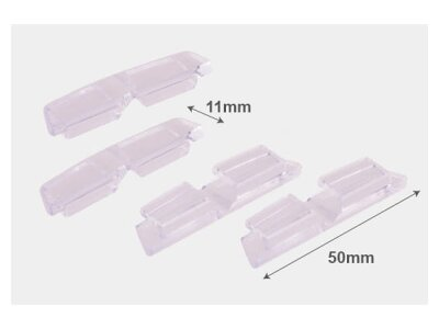 Štitnik za vrata (5 x 1,1cm )  – prozirni