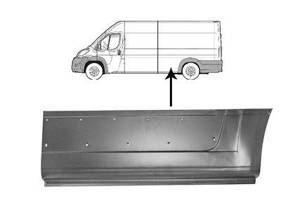 Stražnja panelna ploča (4035mm) Fiat Ducato 06-
