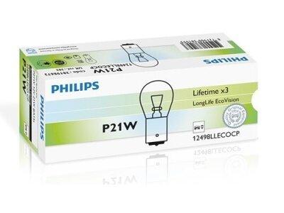 Stražnja žarulja P21W Philips - PH12498LLECOCP