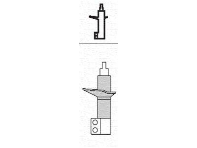 Stražnji amortizer S011330G - Honda