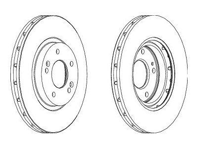 Stražnji kočioni diskovi S71-0290 - Hyundai Santa Fe 01-06