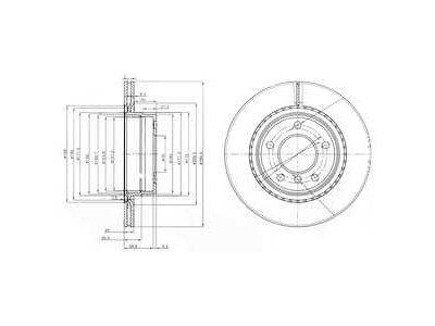 Stražnji kočioni diskovi S71-1388 - BMW Serije 1 04-13