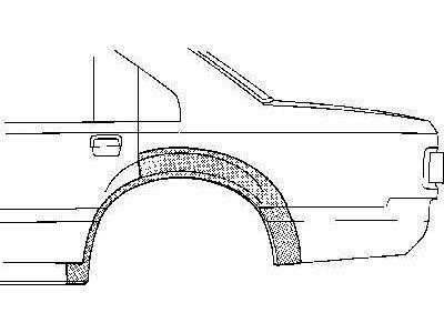 Stražnji rubnjak Opel Rekord E -82