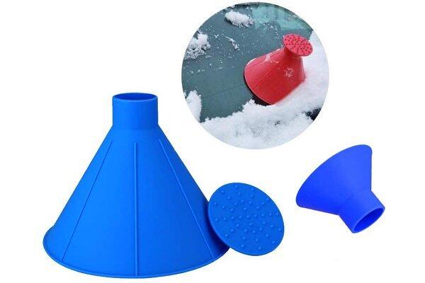 Strugač za prozore Magic Cone i praktični levak, 2 u 1 + Besplatna dostava