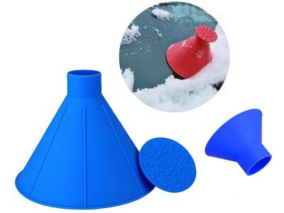 Strugač za prozore Magic Cone i praktični lijevak, 2 u 1 + Besplatna poštarina