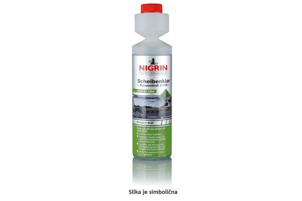 Tekočina za pranje stekla (koncentrat) Nigrin, 250 ml