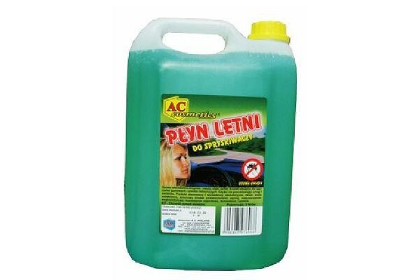 Tekočina za pranje stekla (letna) 10 L