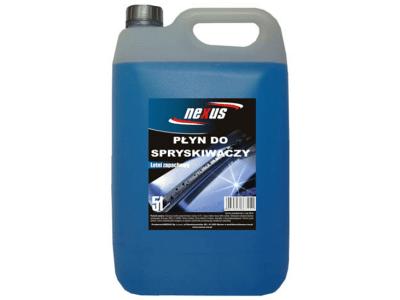 Tekočina za pranje stekla (letna) 5 L, modra