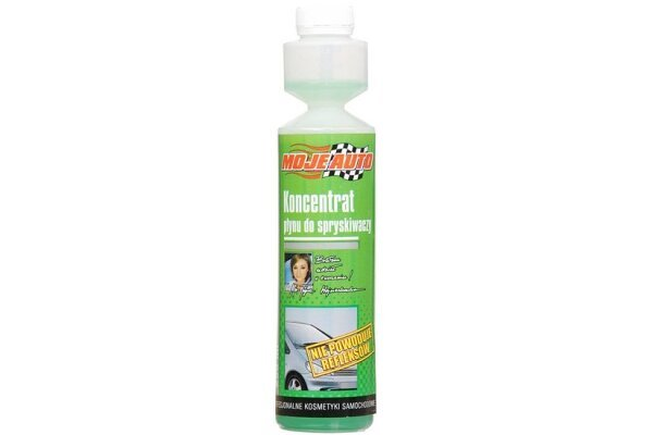 Tekočina za pranje stekla (letna) - KONCENTRAT, 250 ml