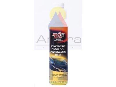 Tekočina za pranje stekla (letna) - KONCENTRAT, 250 ml, limona