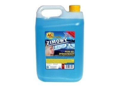 Tekočina za pranje stekla (zimska) 10 L, modra