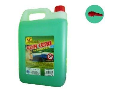 Tekućina za pranje stakla (letna) 5 L + nastavak za ulivanje