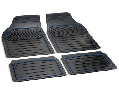 Tepih za auto univerzalni (gumeni), 14036 plavi rub