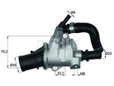 Termostat Alfa Romeo 156 97-05