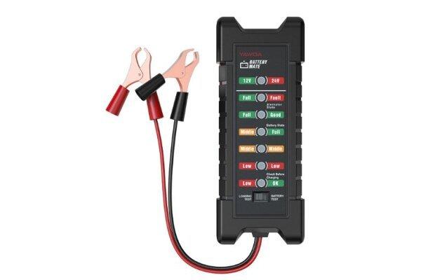 Tester akumulatorja BM410, 12V, 7 lučk