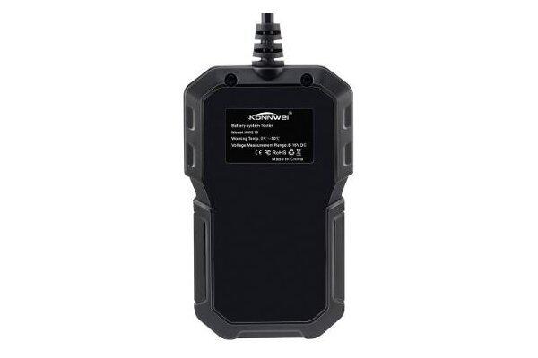 Tester akumulatorja KW210, 12V, 10 W