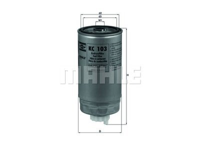 Treibstoff-Filter 103011 - Alfa, Fiat, Lancia
