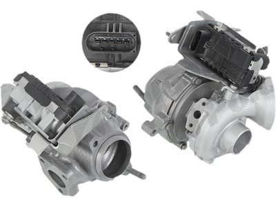 Turbopolnilnik TBS0203 - BMW Serije 5 05-08