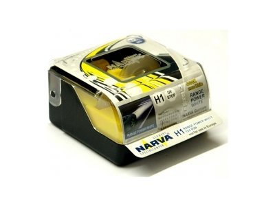 TWIN SET žarnic NARVA H1 RANGE POWER WHITE 85W