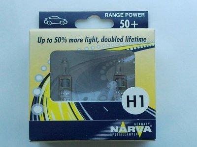 TWIN SET žarulja NARVA H1 +50% DOUBLED LIFETIME