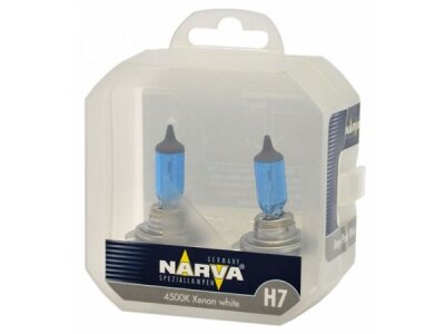 TWIN SET žarulja NARVA H7 RANGE POWER WHITE