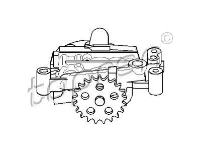 Uljna pumpa Citroen C2 03-