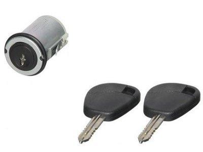 Uložak brave Citroen Jumpy 95- + ključevi