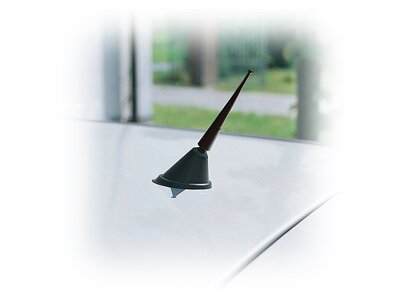 Univerzalna aluminijska antena, Zaštita od hrđanja, 9 cm
