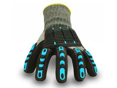 Univerzalne delovne rokavice proti udarcem - Silux parts