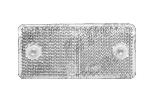 Univerzalni odsevnik (beli) 89x40x6mm