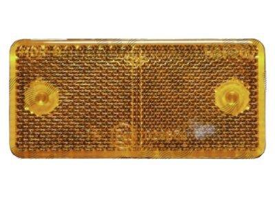 Univerzalni odsevnik (rumeni) 89x40x6mm