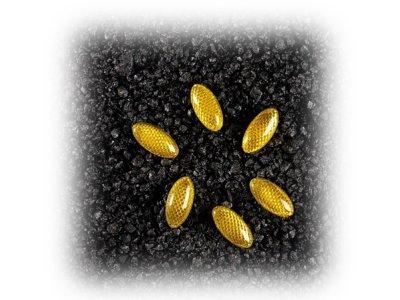 Univerzalni odsevniki 6 kosov rumena, 60823