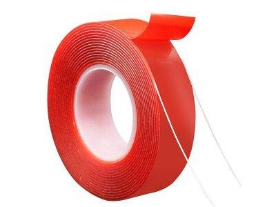 Univerzalni trak za večkratno uporabo Sticky, 3 cm x 3 m