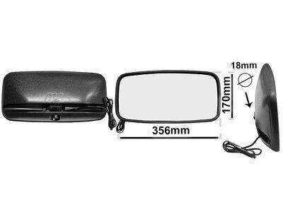 Univerzalno unutrašnje ogledalo (pravougaono) 356x170mm