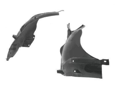 Unutarnja zaštita blatobrana (prednji dio) Mercedes-Benz S W220 98-02