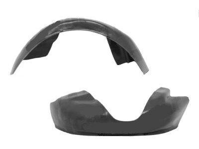 Unutarnja zaštita blatobrana (stražnja) Hyundai Accent 02-06