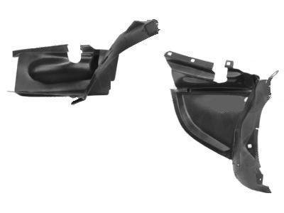 Unutrašnja zaštita blatobrana (prednji deo) Mercedes-Benz SLK R170 96-99