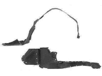 Unutrašnja zaštita blatobrana (zadnja) Mercedes-Benz SLK R170 96-04