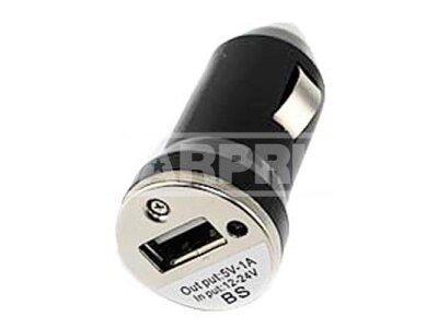 USB adapter, polnilec za cigaretni vžigalnik, 12-24 V, USB 2.0