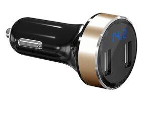 USB adapter, punjač za upaljač za cigarete, 2 priključka