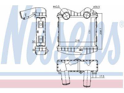 Vazdušni hladnjak Hyundai Terracan 01-08